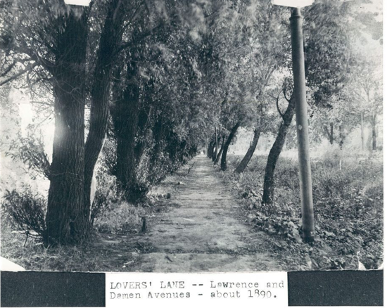 Lovers_ Lane, Lawrence and Damen (Lincoln Square), c.1890, Chicago. (2)