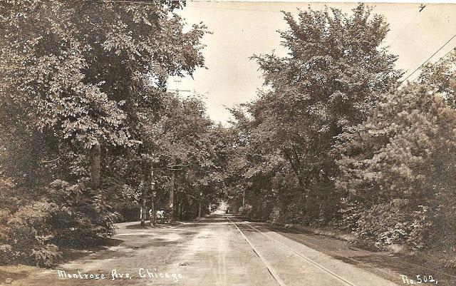 montrose looking west toward Ravenswood 1905
