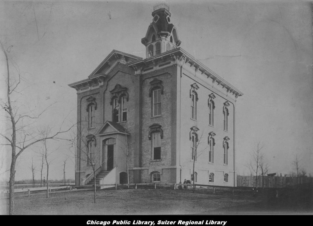 Sulzer_School_on_the_present_site_of_Ravenswood_School 1873